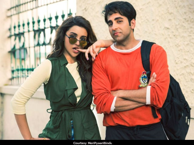 Ayushmann Khurrana and Parineeti Chopra have fun promoting Meri Pyaari Bindu