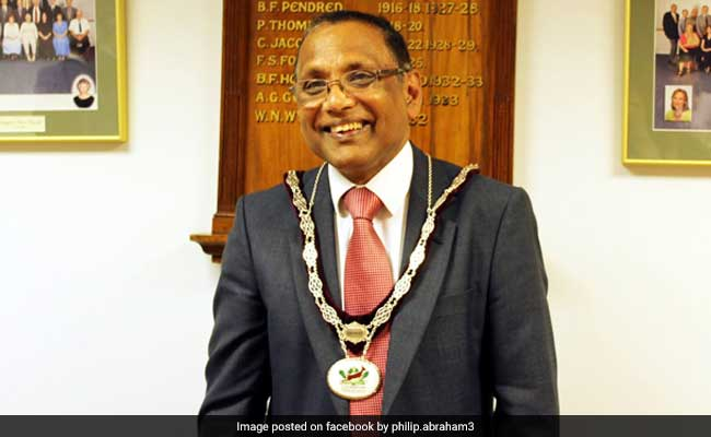 Indian-Origin Councillor Philip Abraham Elected As Loughton Mayor In UK