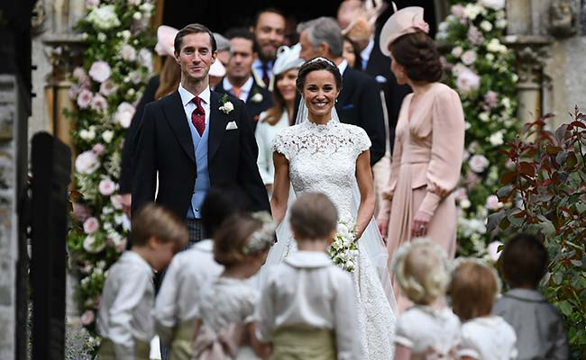 From Bridesmaid To Bride: Star-Studded Wedding For Kate Middleton's Sister Pippa