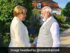 PM Modi Meets Chancellor Angela Merkel At Country Retreat In Germany