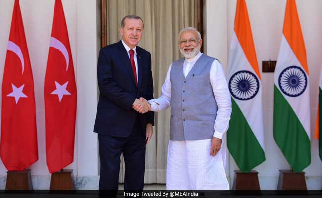 Turkish President Recep Tayyip Erdogan's Controversial Comment On Kashmir As He Visits India