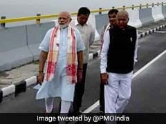 PM Modi Names India's Longest Bridge After Assam Singer Bhupen Hazarika