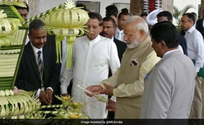 PM Narendra Modi Attends Vesak Day Celebrations In Sri Lanka
