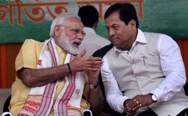 Sarbananda Sonowal Rushes To Delhi To Discuss Flood Problem With PM Modi