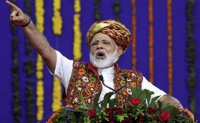PM Narendra Modi Inaugurates Projects Worth Rs 993 Crore In Gujarat
