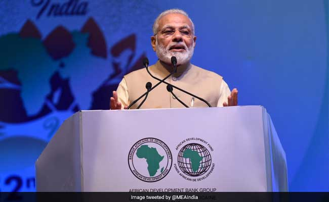 Africa A Top Priority For India, Says PM Narendra Modi At African Development Bank Meet