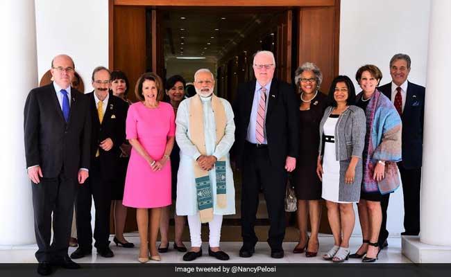 Prime Minister Narendra Modi Meets US Congressional Delegation