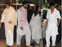 Vinod Khanna's Prayer Meet Attended By Amitabh Bachchan, Aishwarya, Abhishek, Shah Rukh Khan And Others