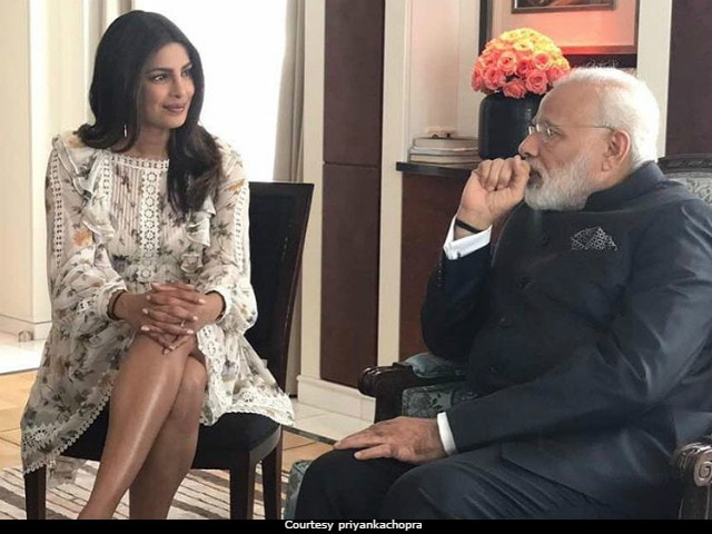 Image result for narendra modi priyanka chopra