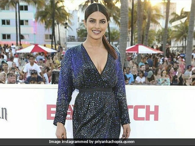 Baywatch Miami Premiere:  Priyanka Chopra Looks Drop Dead Gorgeous At The Event