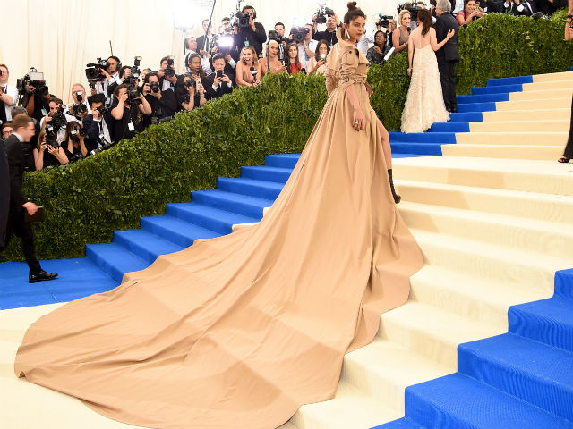 Priyanka Chopra's Met Gala Dress Ended Up As A Meme. Here's How It Started