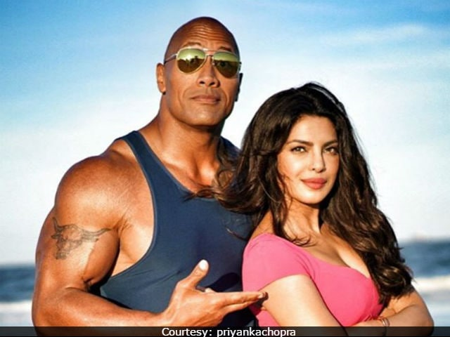 Priyanka Chopra Posts A Sweet Message For Her Baywatch co-star Dwayne Johnson On His Birthday