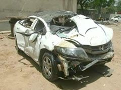 7 Students In Speeding Car That Fell Off Delhi's Punjabi Bagh Flyover