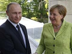 Angela Merkel Meets With Vladimir Putin On Rare Russia Visit