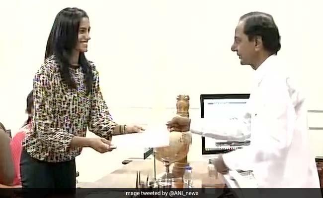 Telangana Allots Residential Plot To PV Sindhu