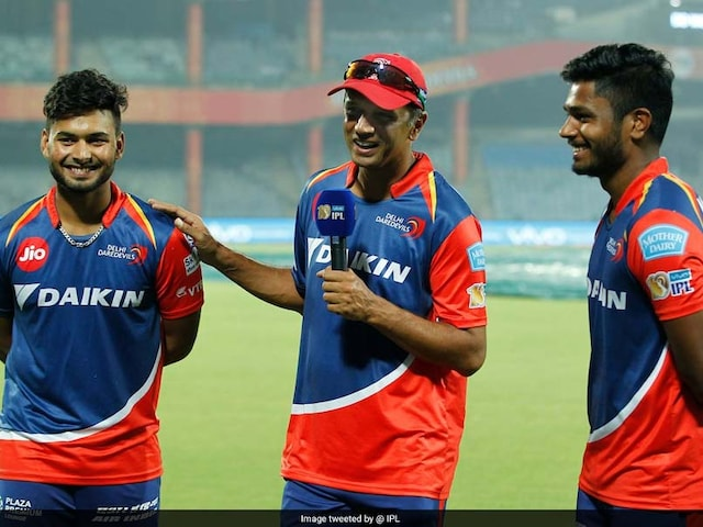 IPL 2017: Glad That You Havent Watched Me Bat, Rahul Dravid To Rishabh Pant And Sanju Samson