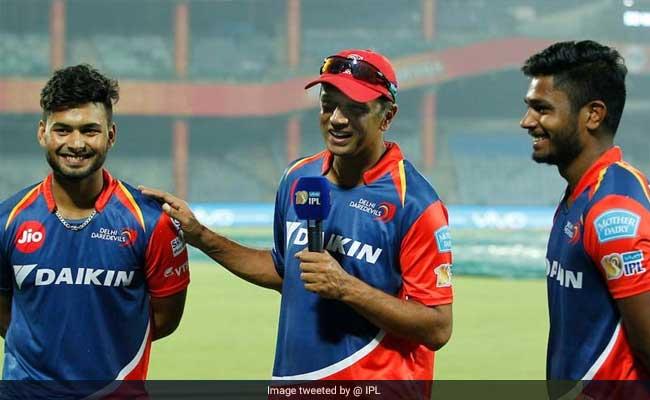 IPL10: ऋषभ पंत और संजू सैमसन की तारीफ में कोच राहुल द्रविड़ ने यह क्या कह दिया...देखें वीडियो