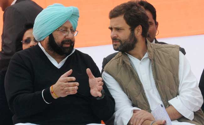Amarinder Singh Meets Rahul Gandhi; Discuss Party Revamp In Punjab