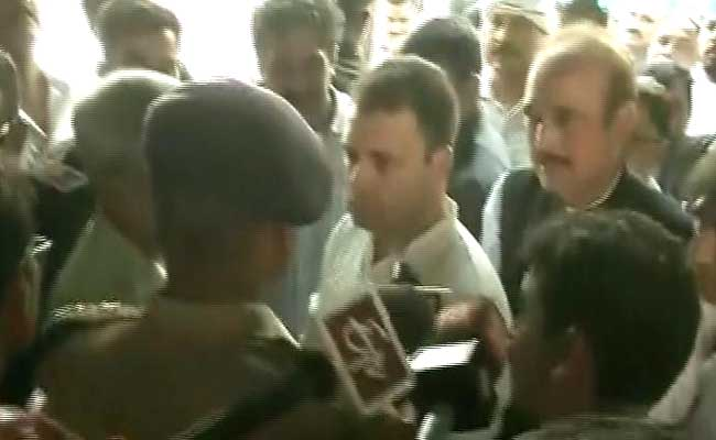 Yogi Adityanath's Duty To Protect The Weak: Rahul Gandhi On Saharanpur Clashes