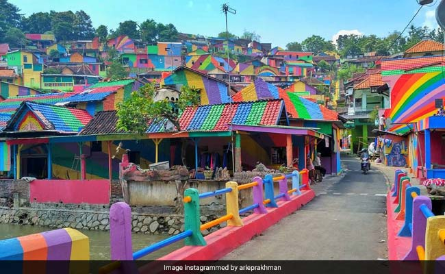 This Village Is Now Instagram-Famous After Its Rainbow Makeover