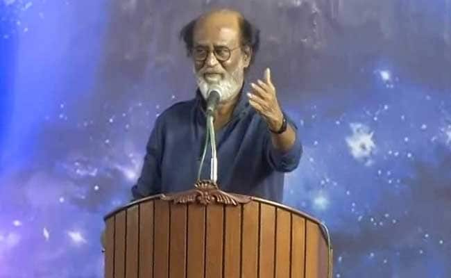 'I Will Call You When There is War': Rajinikanth's Vote Appeal