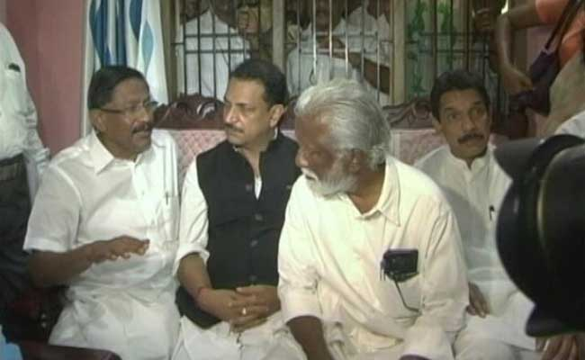 After 15th Political Murder, Minister Rudy In Kannur, Visits Family