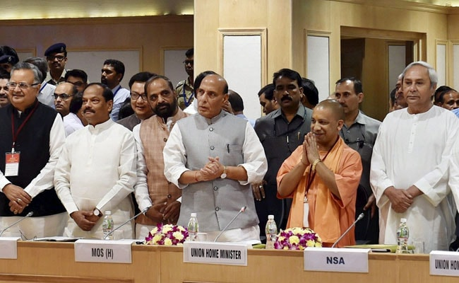 Need UAVs, Connectivity, Development In Maoist-Hit Areas: Rajnath Singh