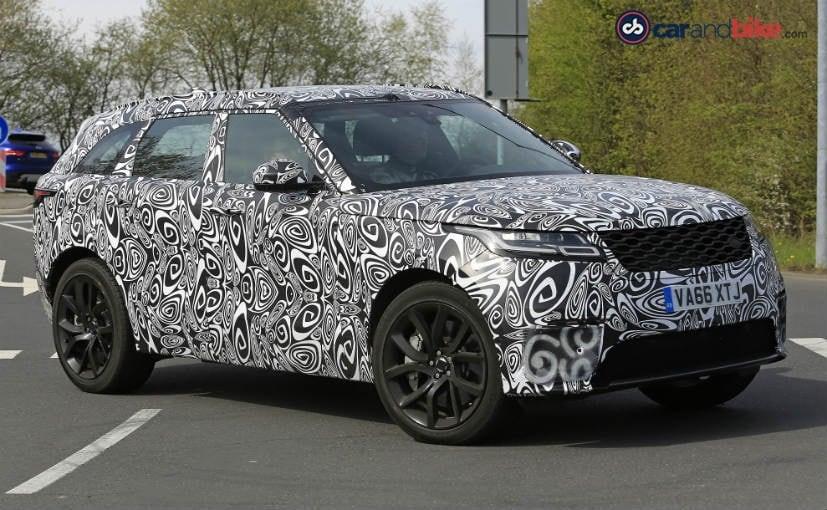 Range Rover Velar SVR Spied Testing At Nurburgring