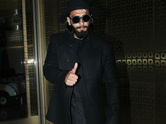 Ranveer Singh Takes Break From Padmavati After Head Injury. He's London-Bound