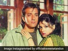 रवीना टंडन ने खोला राज, 'संजय दत्त की दीवानी थी मैं...'