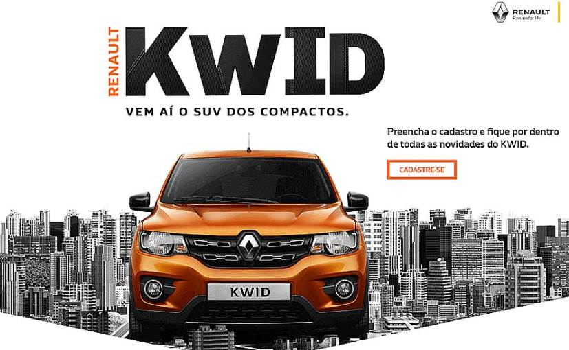 Renault Kwid Brazil Model Better Built Than Indian Spec?