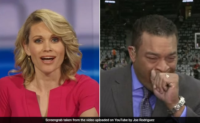 Reporter Chokes On A Bug On Live TV. His Reaction Is Pretty Epic