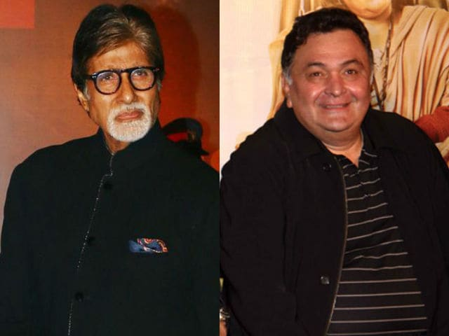 Rishi Kapoor Tweets About Collaboration With Amitabh Bachchan. Details Here