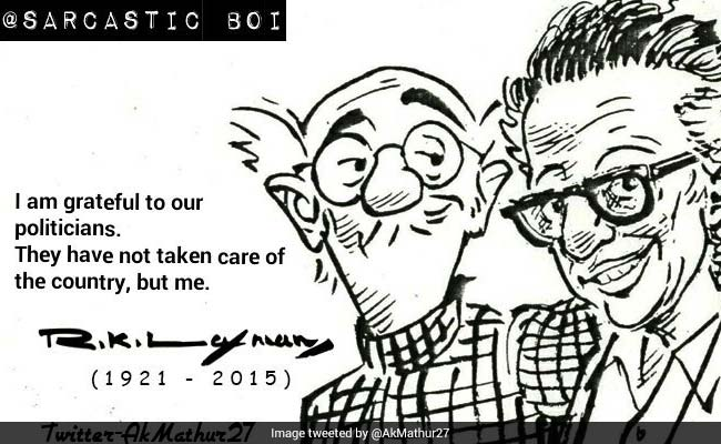 From Common Man To Common Woman, RK Laxman's Granddaughter Takes His Work Forward