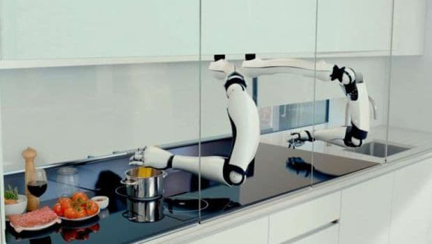 The World's First Robotic Kitchen: Relax While Technology Cooks Your Food