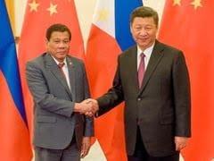 Philippines, China Play Down Rodrigo Duterte's Talk Of War In Disputed Sea