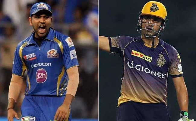 IPL10:फाइनल में पहुंचने की 'जंग', गौतम की KKR देगी रोहित शर्मा की MI को 'गंभीर' चुनौती !