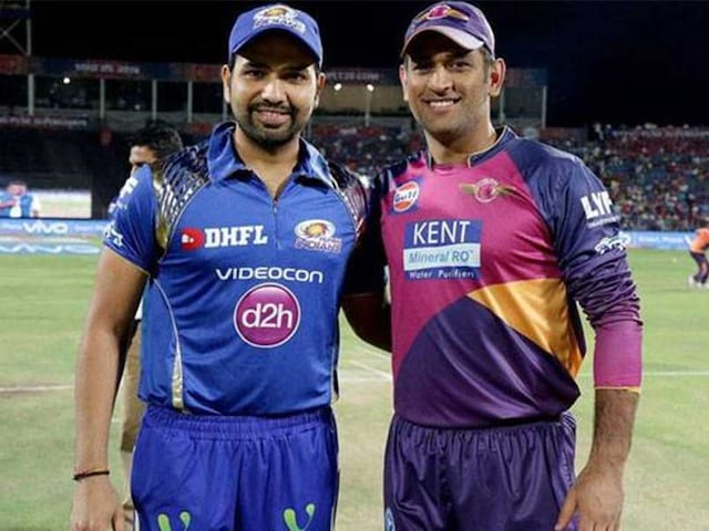 IPL 2017, MI vs RPS: Steve Smith Who? Its Rohit Sharma vs MS Dhoni in Final. Heres Why