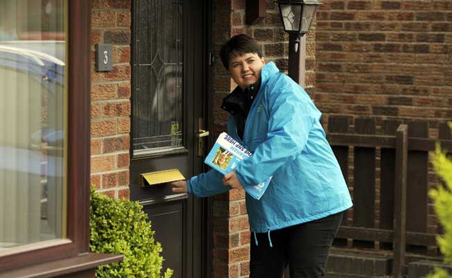 Scottish Conservative Leader Ruth Davidson Hopes To Rein In Independence