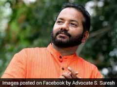 BJP Thiruvananthapuram President Threatens CPM, 'Hate Speech' Case Filed