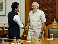 Sachin Tendulkar Receives Blessings From PM Narendra Modi. Here's Why