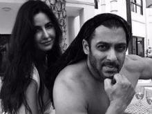 Salman Khan And Katrina Kaif On Set: Please Caption This Pic. Katrina Didn't
