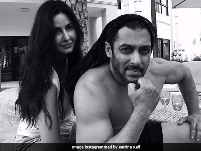 Salman Khan And Katrina Kaif On Set: Please Caption This Pic. Katrina Didn't