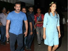 Salman Khan Attends Udaipur Wedding With Rumoured Girlfriend Iulia Vantur