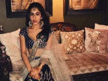 For Sara Ali Khan, A Bollywood-Style PR Blitz Begins