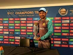 ICC Champions Trophy 2017: Pakistan Captain Sarfraz Ahmed Confident Of Beating India Again