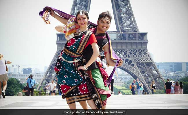 When Odisha Met Paris: Sambalpuri Dancers Enthrall At The Eiffel Tower