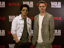 Brad Pitt Learns From Shah Rukh Khan Just How Easy Dancing Is