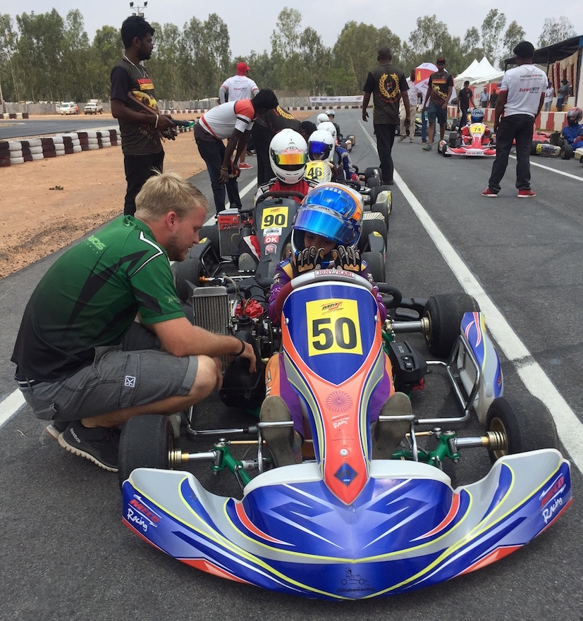 shahan ali mohsin meco motorsport karting
