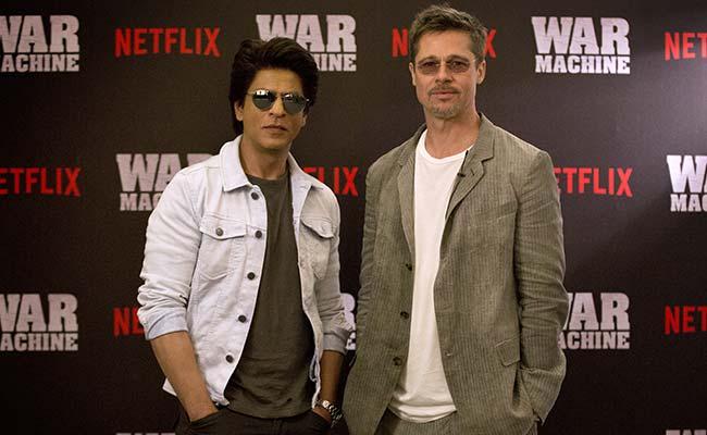 अचानक इंडिया पहुंचे ब्रैड पिट ने शाहरुख खान को बतायी अपनी मजबूरी, 'न डांस आता है न गाना'
